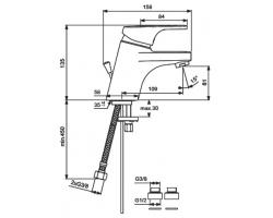Смеситель Form BA061AA для умывальника