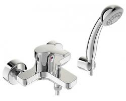 Смеситель Vidima Form для ванны, c коротким изливом