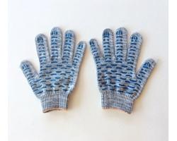 Перчатки ХБ с ПВХ 3 нити