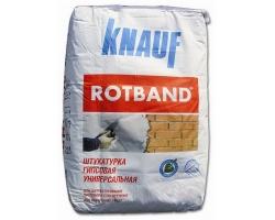 Штукатурка Ротбанд Knauf