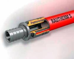 Труба систем отопления Rautherm S